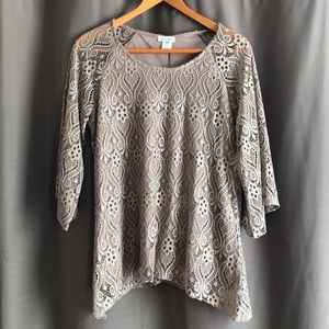 Boutique lace blouse